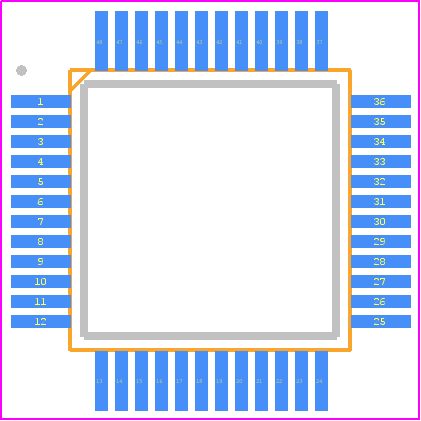 STM32F103C8T6   Footprint