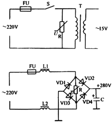 Fig. 3 typical application circuit for a varistor.png