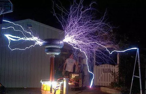 application of tesla coil